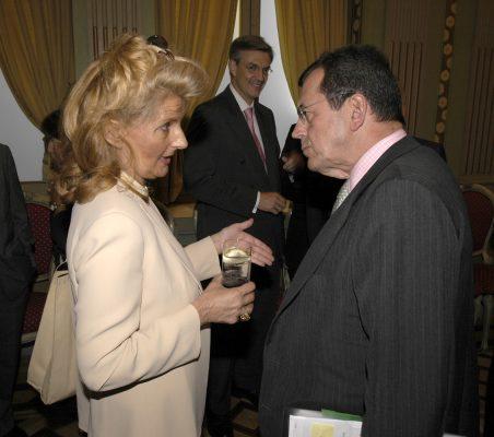 Isabel Tocino y Santiago Martínez- Lage