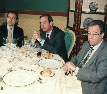 Ignacio Madridejos, Claudio Boada y Jacinto García Palacios