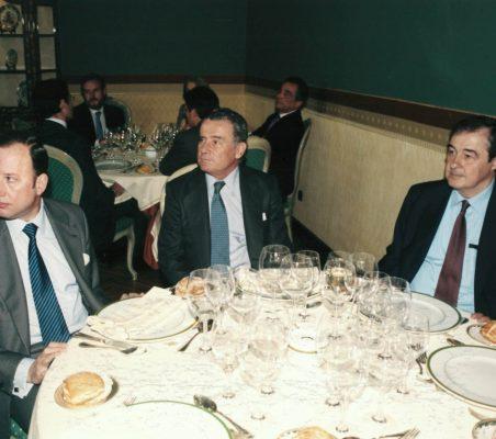 Féliz Losada, Manuel Gasset y Antonio Ortega
