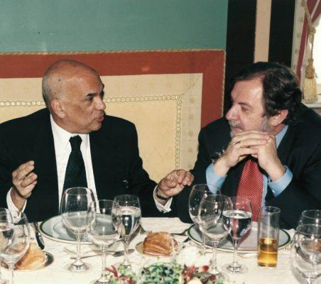 Jorge Alberto Lozoya y Juan Luis Cebrián