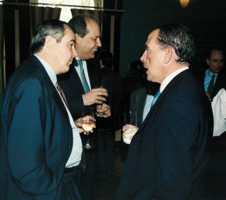 Antonio Ortega, Rafael Roldán y Ernesto Jiménez
