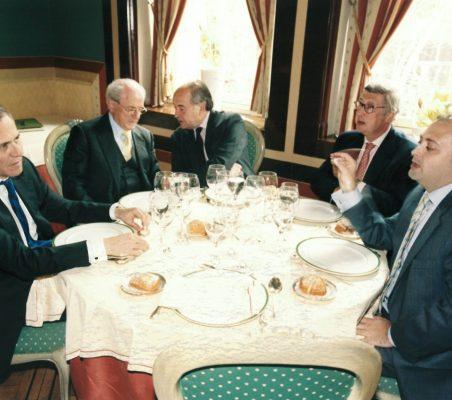 Ramón Reyes, Eduardo de Santis, Miguel Vergara ,Rafael Puyol y  Alfredo Soriano