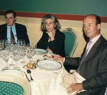 Antonio Ortega, Mª Jesús Prieto y Miguel Iraburu