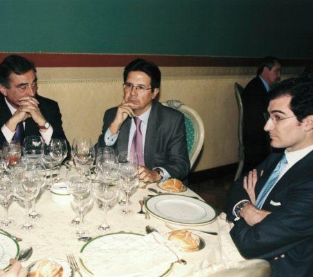 Carlos Fernández Lerga, Miguel Gordillo  y Luis Sánchez de la Madrid
