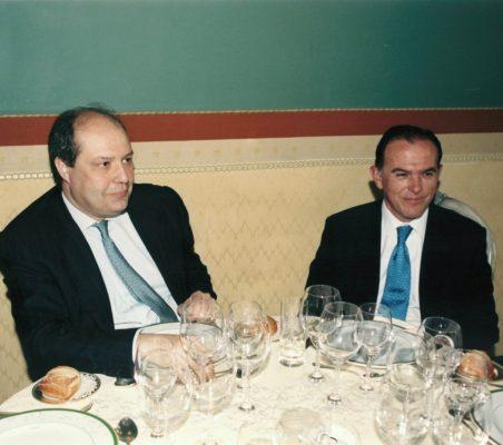 Rafael Roldán y Ernesto Jiménez