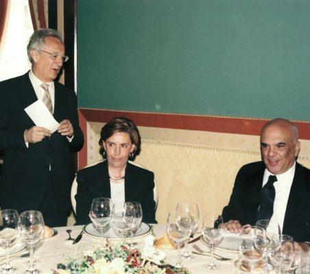 Ángel Durández, Leonor Ortíz Monasterio y Jorge Alberto Lozoya