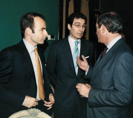 Ignacio Madridejos, Luis Sánchez de la Madrid y Claudio Boada