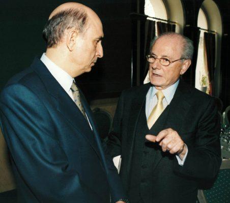 Fernando Conte y Eduardo de Santis