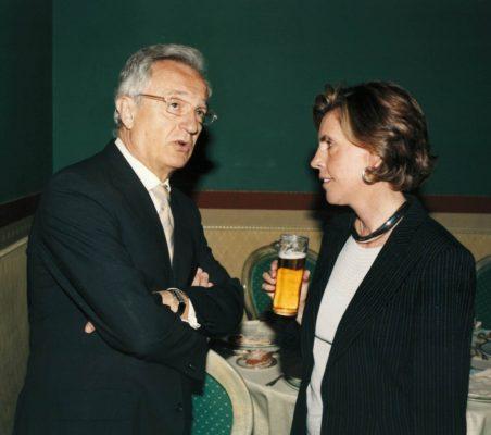 Ángel Durández y Leonor Ortiz Monasterio