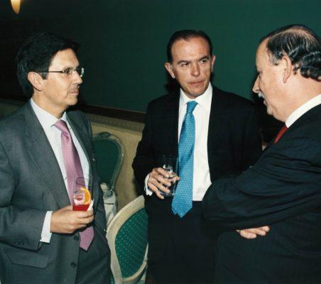 Miguel Gordillo, Ernesto Jiménez y Luis Esteban Echevarría