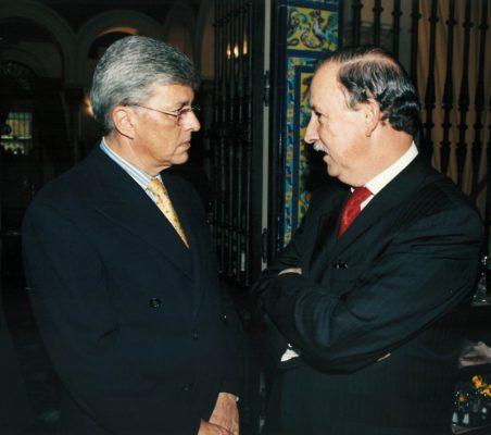 Carlos Moreira y Luis Esteban Echevarría