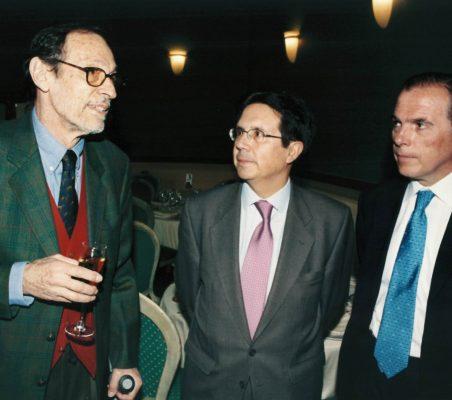 Emilio Cassinello, Miguel Gordillo y  Luis Sánchez de la Madrid