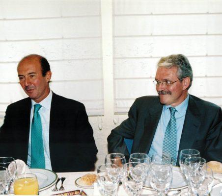 Miguel Iraburu y Amadeo Petitbó