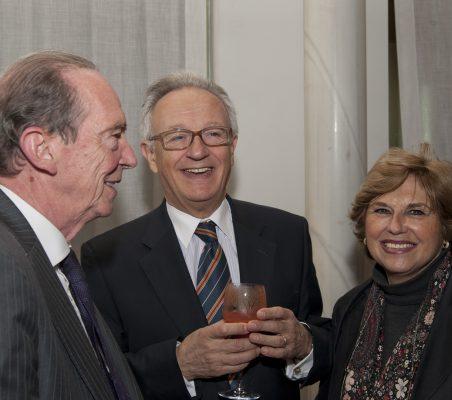 José Manuel Blecua, Ángel Durández y Mª Jesús Escribano