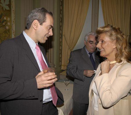 José Manuel Gónzález-Páramo y Isabel Tocino