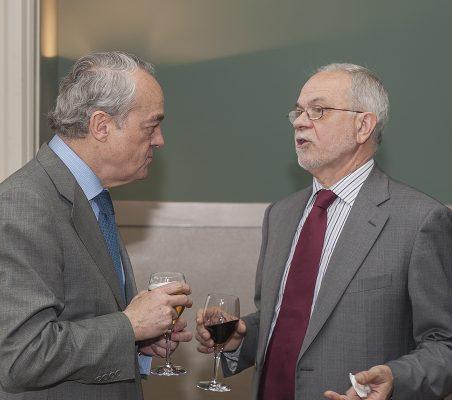 José Manuel de la Riva Zorrilla y Javier Nadal