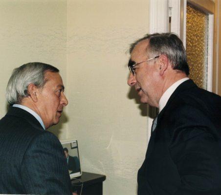 Carlos Solchaga y Theo Waigel