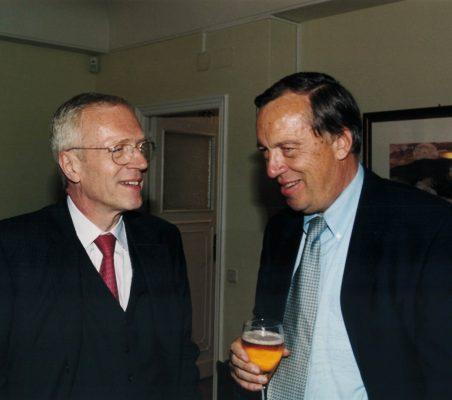Embajador Joachim Bitterlich y Carsten Moser