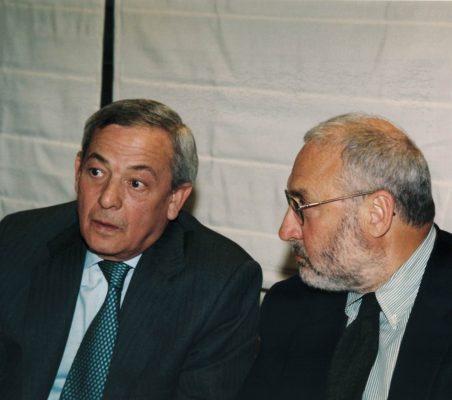 Carlos Solchaga y Joseph Stiglitz