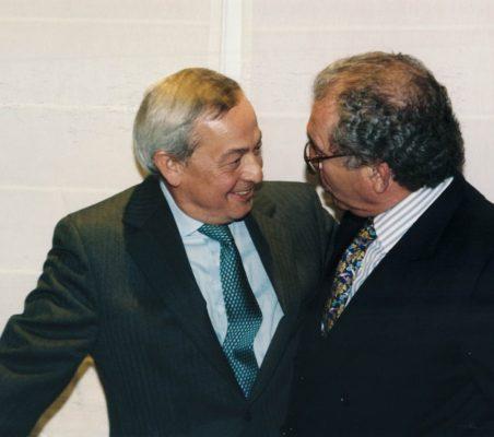 Carlos Solchaga y Eduardo Serra
