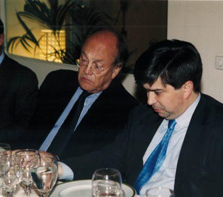 Javier Ramiro y Baudilio Tomé