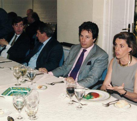 Claudio Aranzadi, Javier Baviano, Gonzalo Córdoba y Leonor Ortíz Monasterio