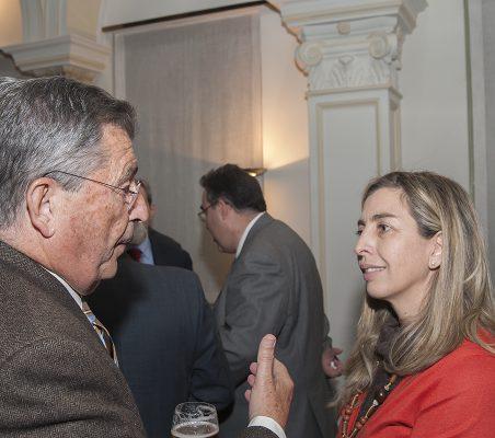 Juan Manuel Martínez Gómez y Eva Piera