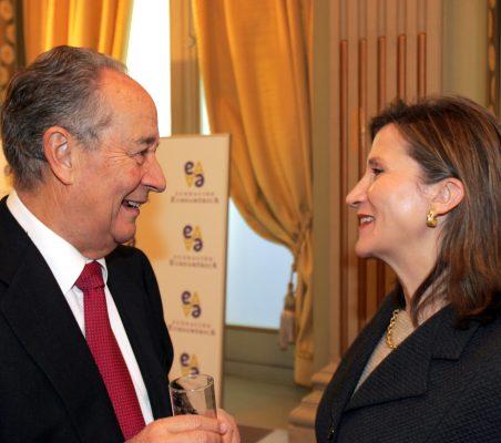 Juan Miguel Villar Mir y Asunción Valdés