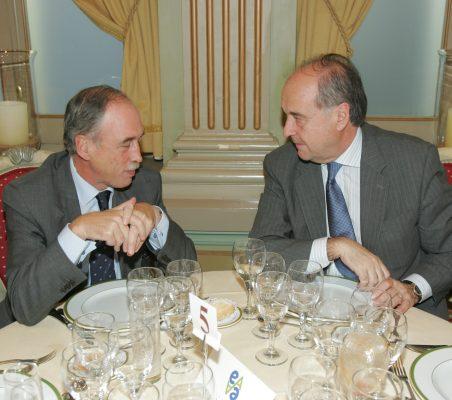 Juan Socías y Miguel Vergara