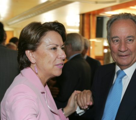 Magdalena Álvarez y Juan Miguel Villar Mir