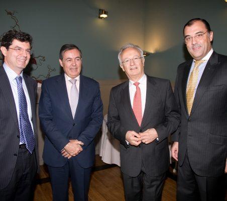 Martín Ortega Carcelén, Juan Iranzo, Ángel Durández y José Antonio Silva E Sousa