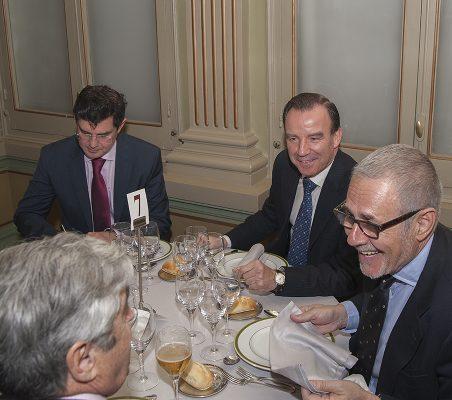 Martín Ortega Carcelén, Rafael Falagán y Ramón Reyes