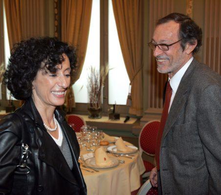Mercedes Cabrera y Emilio Cassinello