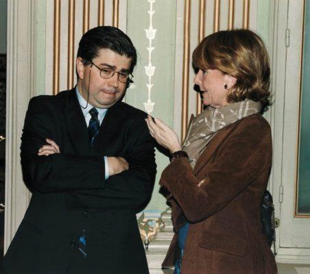 Baudilio Tomé y Esperanza Aguirre