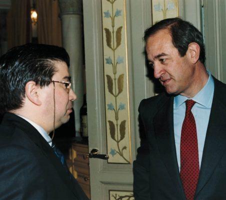 Baudilio Tomé y Claudio Boada