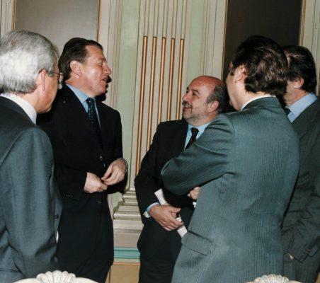 Pedro Pérez, Michael Portillo , Joaquiín Almunia y otros invitados