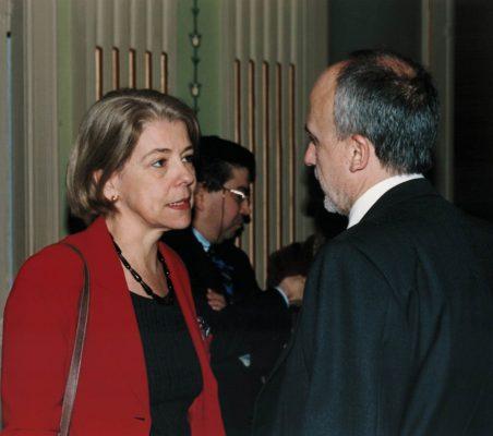 Pilar Tena y Óscar Fanjúl