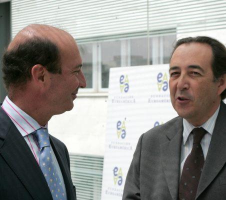Miguel Iraburu y Carlos López Blanco
