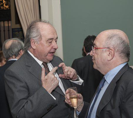 Miguel Vergara y Joaquín Almunia
