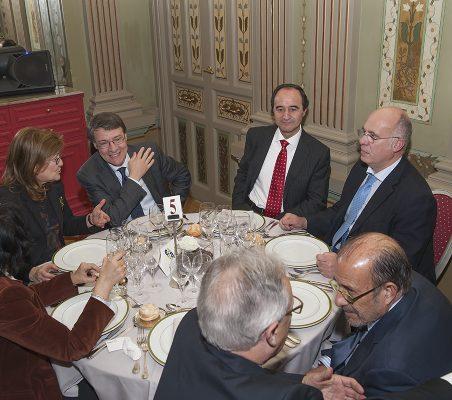 Milagros Candela, Jordi Sevilla, Jacinto López, Juan Miguel Márquezy Francisco Galindo
