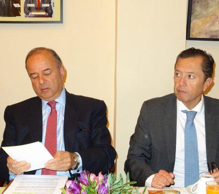 Claudio de la Puente Ribeyro y David Tuesta