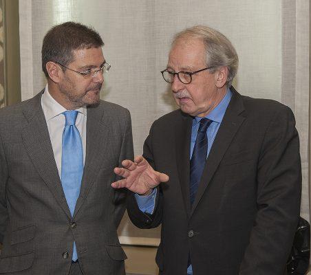 Rafael Catalá y Matthias Ruete