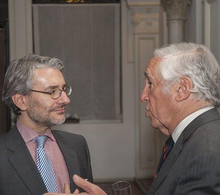 Rafael García del Poyo y Carlos Espinosa de los Monteros