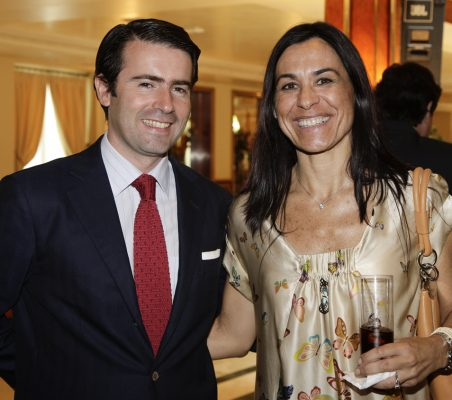 Rafael Hoyuela y Cristina Amor