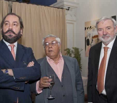 Ramón Pérez Máura,Miguel Ángel Bastenier y Orlando Sardi de Lima