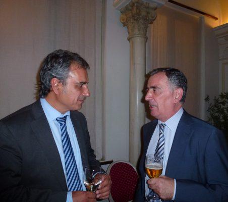Luis Fernando Álvarez- Gascón y Justo Varona