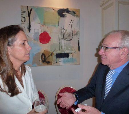 Patricia Alfayate y Almerino Furlan