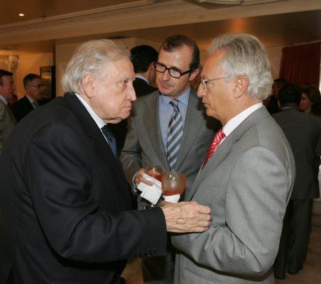 Pancho Pérez González. Rafael Guardans y Ángel Durández