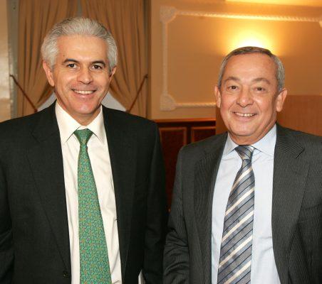 Francisco Ros y Carlos Solchaga