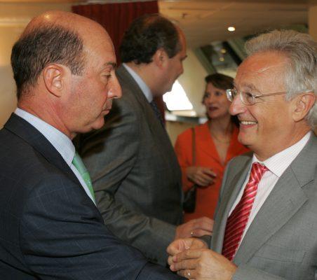 Miguel Iraburu y  Ángel Durández